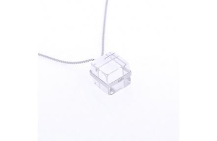 Přívěsek Storm Cubic White