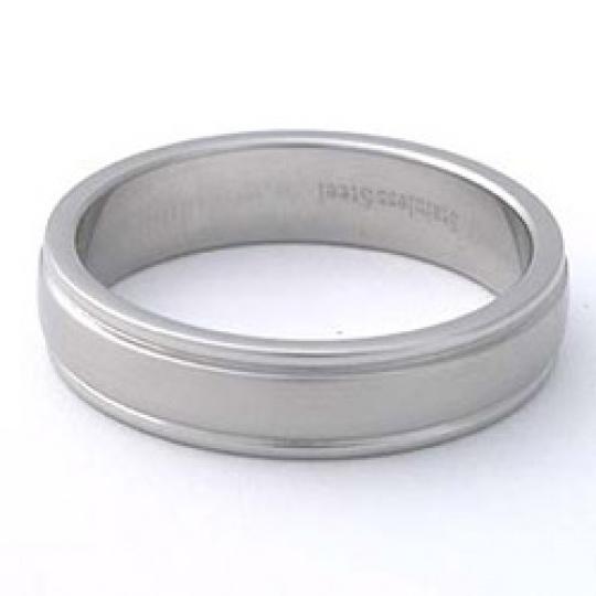 Prsten z chirurgické oceli RSS275