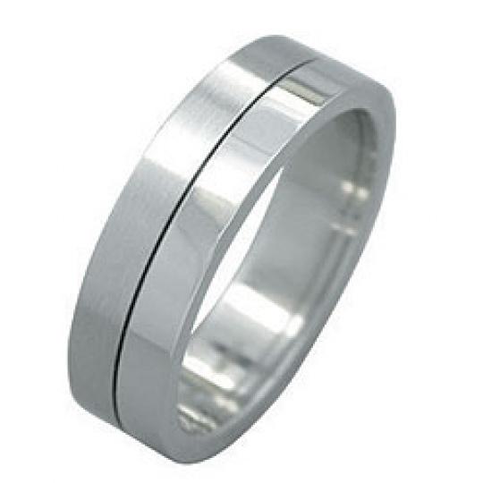Prsten  z chirurgické oceli RSST05