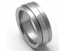 Pánský titanový snubní prsten TTN2201