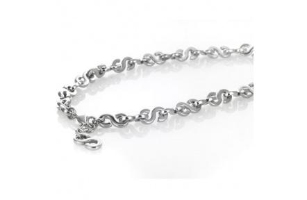 Řetízek Storm Initial Chain Silver