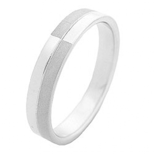 Prsten z chirurgické oceli RSS 55