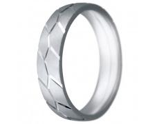 Snubní prsteny kolekce CLAUDIA12, materiál bílé zlato 585/1000, váha: u velikosti 54mm - 7.60g
