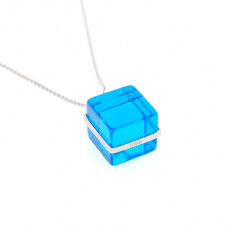 Přívěsek Storm Cubic Blue