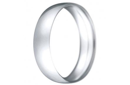Snubní prsteny kolekce CLAUDIA3, materiál bílé zlato 585/1000, váha: u velikosti 54mm - 6.20g