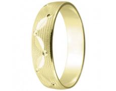 Snubní prsteny kolekce A10, materiál žluté zlato 585/1000 , váha: u velikosti 54mm - 3.30g