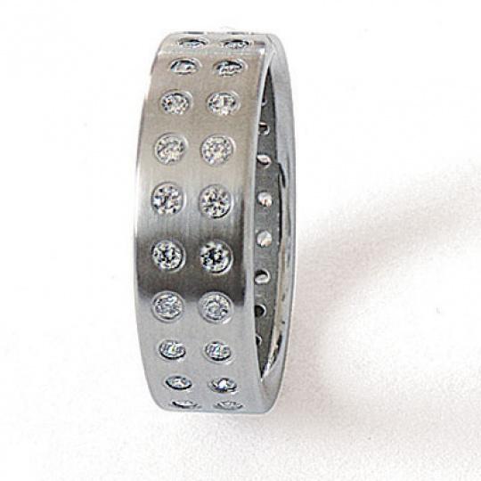 Prsten z chirurgické oceli 06002