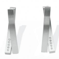Náušnice s diamanty Xen Melody 431013G0