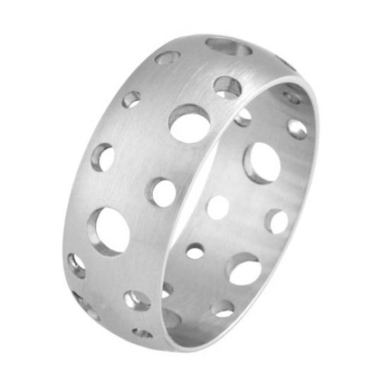 Prsten z chirurgické oceli RSSC30