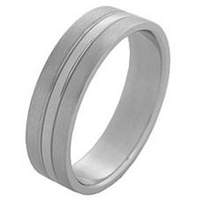 Prsten z chirurgické oceli RSS78