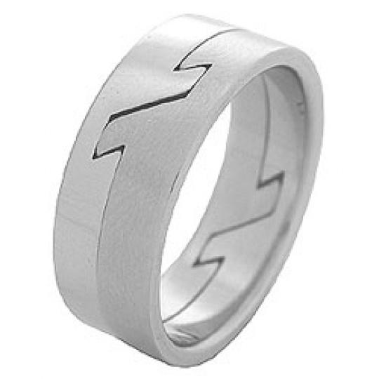 Prsten z chirurgické oceli RSS62