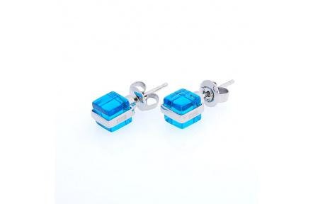 Náušnice Storm Mini Cubic Blue