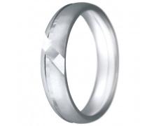Snubní prsteny kolekce CLAUDIA9, materiál bílé zlato 585/1000, váha: u velikosti 54mm - 7.60g