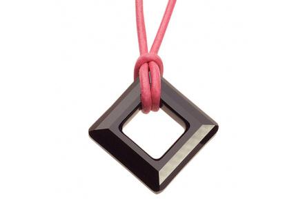 Přívěsek Square Jet Pink 4833