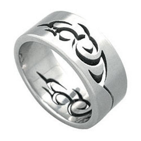 Prsten z chirurgické oceli RSSO300