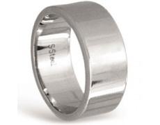 Ocelový prsten Tribal RSSS