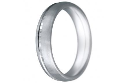 Snubní prsteny kolekce CLAUDIA5, materiál bílé zlato 585/1000, váha: u velikosti 54mm - 7.50g