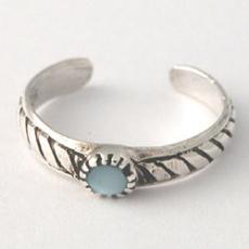 Prsten na nohu NOHX8blue