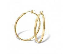 Náušnice z chirurgické oceli ESH38-GOLD