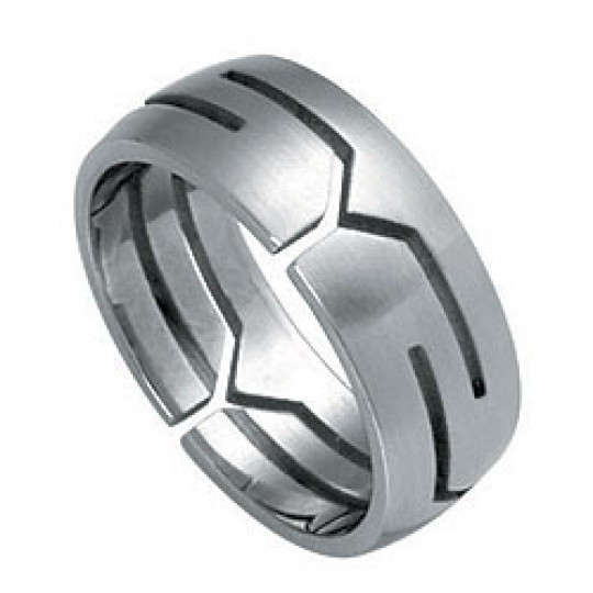Prsten z chirurgické oceli RSSO328