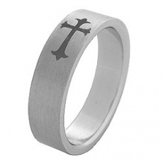 Prsten z chirurgické oceli RSS70