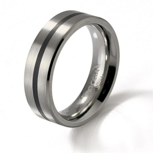 Titanový prsten Boccia 0101-14