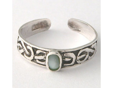 Prsten na nohu NOHX16green