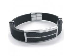 Ocelový náramek Zero Collection 0017
