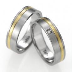Snubní prsten TeNo 068-13P01-D30
