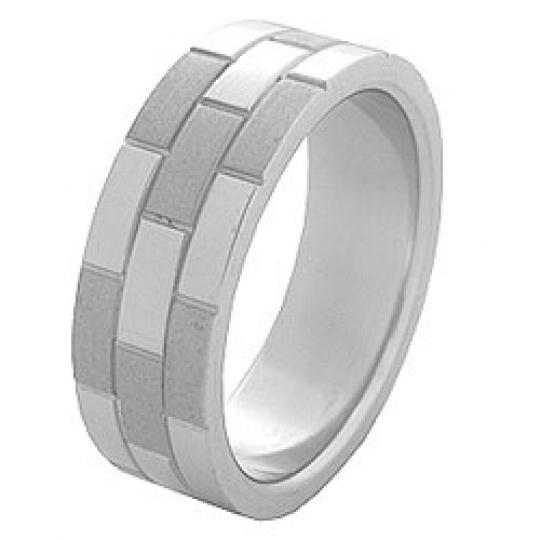 Prsten z chirurgické oceli RSS 61