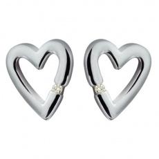 Náušnice Hot Diamonds Addicted To Love DE008