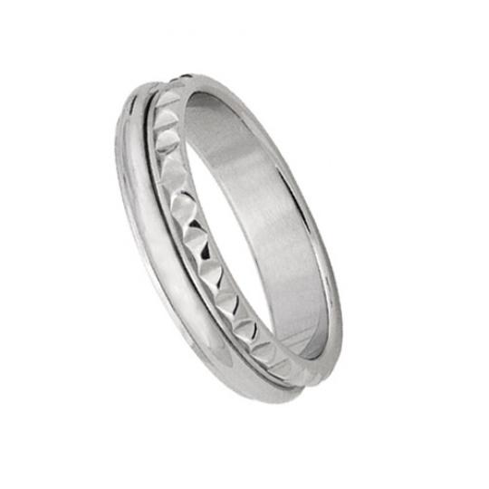 Prsten  z chirurgické oceli RSS328