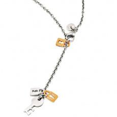 Ocelový náhrdelník Mooby Secret MC161