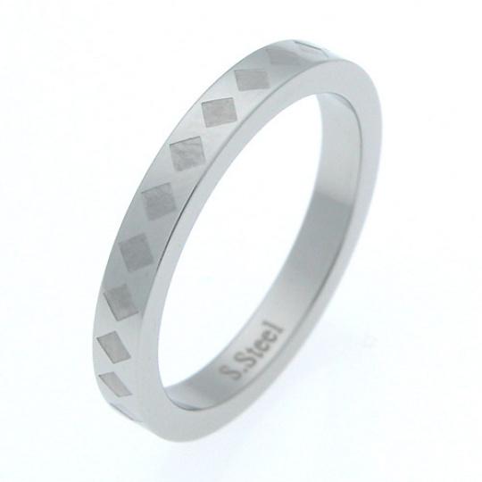 Prsten z chirurgické oceli rst02